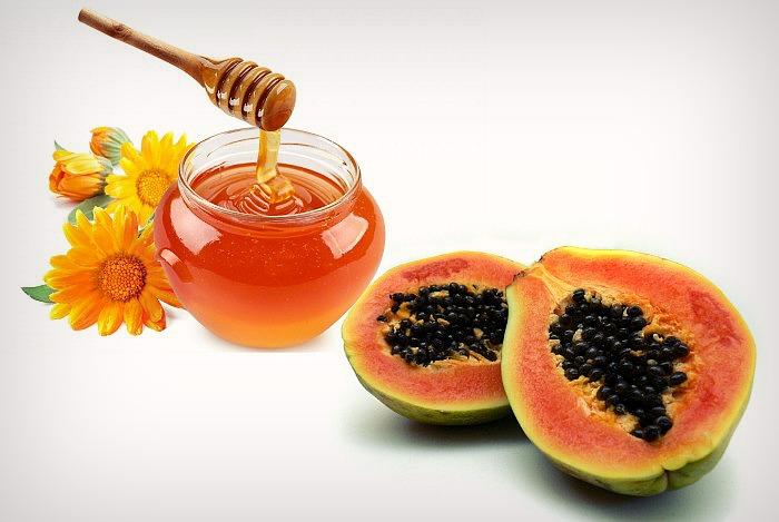 Papaya-and-honey-face-pack1