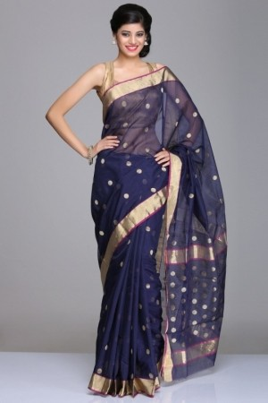 140992516066697540-navy-blue-chanderi-saree-with-gold