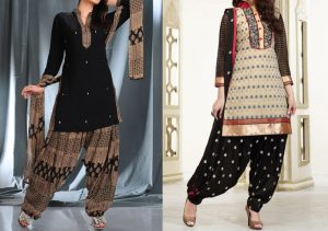 Black-Punjabi-Patiala-Salwar-Suit-Dress