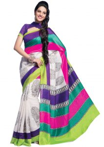 triveni-off-white-art-silk-saree-tsvf8530