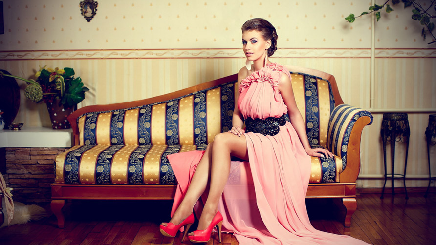 young-lady-in-bright-pink-dress