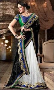 Designer-Half-Saree-Designs-For-Wedding-2016-Prices
