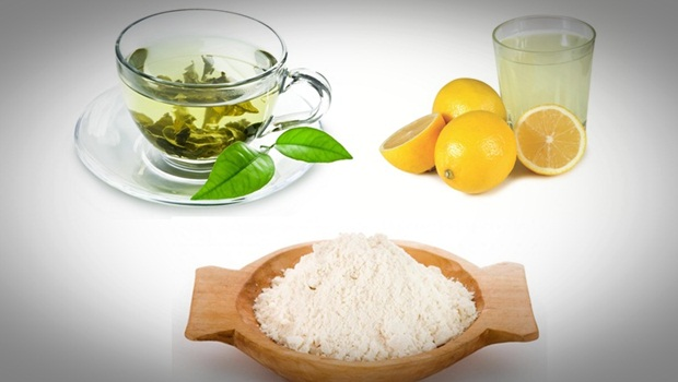 green-tea-lemon-juice-and-rice-flour-mask-for-oily-skin