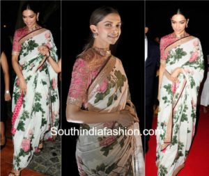 Saree! A never ending fashion statement